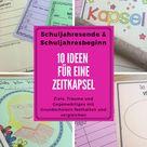 Zeitkapsel,  Klassenzeitung, Das Bin Ich- Material mit vielen Möglichkeiten am Schuljahresende