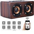 Wood Grain Wireless Bluetooth Speaker Dual Louder speaker Subwoofer Sound Box Support TF Music Player  | Wish