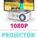 1080P Projector, FANGOR 2021 WiFi Projector Bluetooth Support 7500I Movie Projector 4K Video Support