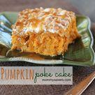 Pumpkin Poke Cakes