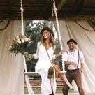Macrame Swing, Wooden Tree Swing, Tree Swing Adult, Tree Swing, Boho Swing, Outdoor Swing, Wood Swing, Swing, Modern Macrame, Wedding Decor