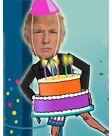 Birthday Dancing Donald Trump