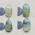 Natural Rutilated Prehnite Gemstone Very Rare Prehnite Gemstone Prehnite Rutilated Jewelry AAA Prehnite Loose Cabochon, Prehnite Necklace