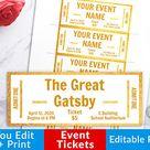 Custom Theater Ticket Voucher  •  Surprise Gift Activity  •  BEST SELLER  •  Custom Gift Voucher  •
