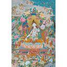 White Tara Thangka, High Quality Tara Thangka Print - 13 x 20 inches