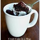 Cake In Mug
