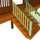 How to build a porch stair railing | HowToSpecialist - How to Build, Step by Step DIY Plans