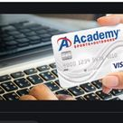 Academy Credit Card Application, Login, Activation, and Password Recovery - TechSog