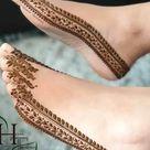 80 Beautiful Bridal Mehendi Designs Images for Feet 2021