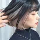 45+ Korean Secret Two-Tone Hair Color Ideas You Should Try in 2021 | Kbeauty Addiction