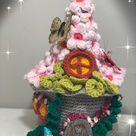 Crochet Spring Fantasy Fairy House Fairy House Pattern | Etsy