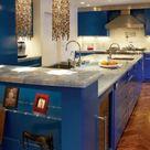Cobalt Blue Kitchens