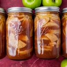 How to Make Homemade Apple Pie Filling {Sealed in Jars}