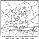 How to Train Your Dragon Coloring Pages - Free Printable