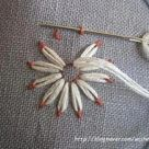 BEAUTIFUL EMBROIDERY FLOWER