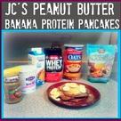 Banana Protein Pancakes