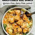 Paleo Chicken Teriyaki Cauliflower Rice Bowls