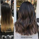 "ᴍᴀɴᴇ ɪɴᴛᴇʀᴇsᴛ 💁🏼♀️ on Instagram: ""Bye ombré. Color by @long.the.hong  #hair #hairenvy #haircolor #beforeandafter #brunette #highlights #makeover #newandnow #inspiration…"""