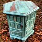Painted Side Tables