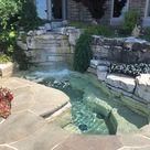 Pool Spa Water Features - Landscape Maintenance   Drost Landscape