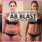 ? Ab Blast Full Body Toner - At Home Workout for Women. These Results Turn Heads! - Transform Fitspo