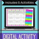 Systems of Equations | Digital Activity Bundle | 5 Digital Activities | Algebra