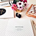 MAKE YOUR MARK Daily Planner