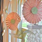 Frühlingsdeko für Fenster und Tür- bunte Ideen in der prachtvollen Blütezeit