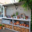Gartenküche,  Pflanztisch,  Tresen oder einfach nur super cooles Multitalent DIY