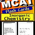 Mcat Test Prep Inorganic Chemistry Review--Exambusters Flas...