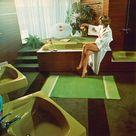 Im Farbrausch: Bäder der 70er Jahre