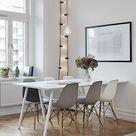 POP Stuhl Holz Weiß