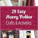 29 Harry Potter Crafts & Activities [easy]