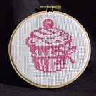 Cupcake Cross Stitch