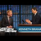 Kenneth Branagh on Trying to Satisfy Thor Fans   Late Night with Seth Meyers