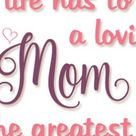 Moms Best Friend