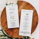 Wedding Set Bundle, Blush + Ivory Greenery Succulent Wedding Suite Bundle Templates, Bundle Invitation Set, Editable Text, Instant Download