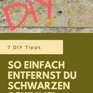 DIY - So einfach entfernst du schwarzen Schimmel - blogalong.de