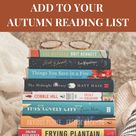 9 Cosy Books to Add to Your Autumn Reading List