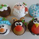 11 Cute Christmas Cupcakes - The Purple Pumpkin Blog