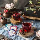Twinings Tea Bag Sampler Set in Gift Box - Herbal, Decaf & Caffeinated - 60 Ct, 60 Flavors
