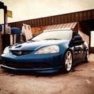 2005 Acura RSX Type S Vivid Blue pearl