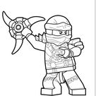 Lego Ninjago Coloring Pages for Kids