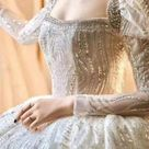 Ostty luxury wedding dresses new design in 2021