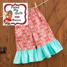 Ruffle Pants Pattern