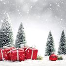 !!TAP AND GET THE FREE APP! Holidays Christmas White Gifts Surprise Bokeh Grey Snowflakes Winter HD iPhone 5 Wallpaper