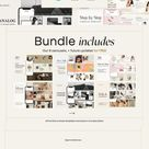 6 in 1 Bundle IG Carousel Canva PS