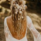 Relaxed Outdoor Wedding Vibes With 1970's Inspiration + Dried Florals   Green Wedding Shoes