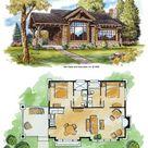 Stone Mountain Cabin Plans - Tiny House Blog