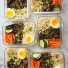 How To Meal Prep - Korean Beef Bowls